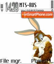 Bunny1 es el tema de pantalla