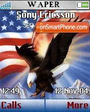 American Eagle theme screenshot