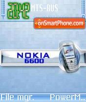 6600 v1 es el tema de pantalla