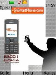 Nokia 6300i theme screenshot