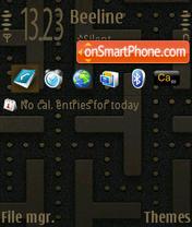 The Maze theme screenshot