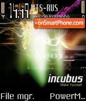 Incubus theme screenshot