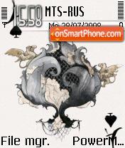 Ace Card es el tema de pantalla
