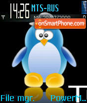 Penguin theme screenshot
