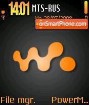 Walkia theme screenshot