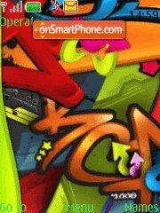 Graffiti 05 theme screenshot