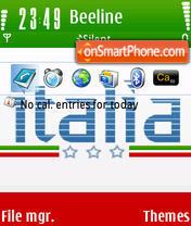 Just Italia theme screenshot