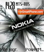 Nokia Carbide tema screenshot