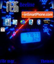 Speedo meter es el tema de pantalla