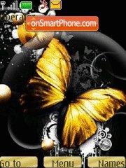 Скриншот темы Butterfly 133