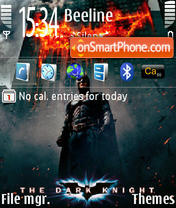 Dark Knight 02 theme screenshot