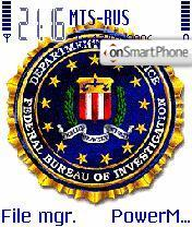 Fbi theme screenshot