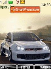VW Golf W12 Theme-Screenshot