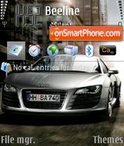 Audi R8-2 es el tema de pantalla