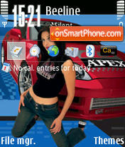 Import Tuner 3250 theme screenshot