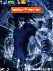 Скриншот темы Sasuke