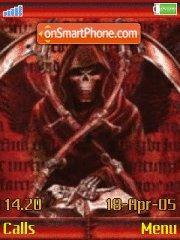 Death Keeper 01 theme screenshot