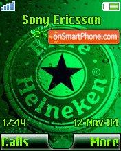 Heineken 07 theme screenshot