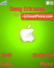 Green Apple 01 theme screenshot