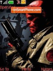 HellBoy 02 theme screenshot