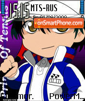 Prince of Tennis theme screenshot