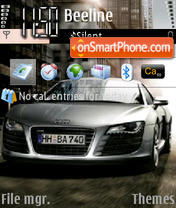 Audi R8-3 theme screenshot