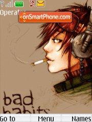 Bad Habits theme screenshot