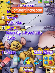 Pooh N Friends 01 theme screenshot