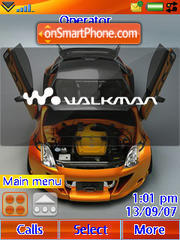 Nissan 350z 06 theme screenshot