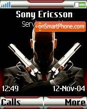Agent 47 Hitman theme screenshot