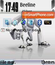 Xp5 theme screenshot