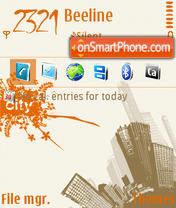 City 05 theme screenshot