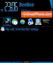 Blackbluev theme screenshot