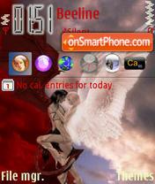 Angel Loving theme screenshot