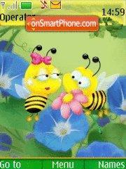 Bee theme screenshot