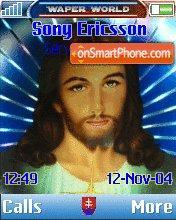 Jesus Christus theme screenshot