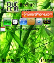 Bambyk Iphone tema screenshot