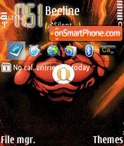 Opera Man theme screenshot