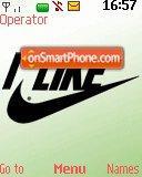 I Like Nike es el tema de pantalla