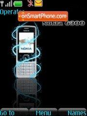 Nokia 6300 01 theme screenshot