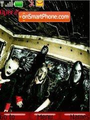 Slipknot 06 theme screenshot