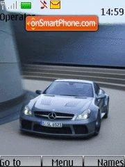 Mercedes Benz 04 tema screenshot