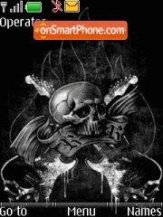 Скриншот темы Skull Theme V2