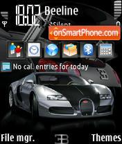 Скриншот темы Veyron Pursang