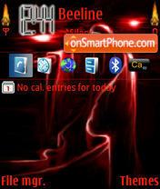 Gothic theme screenshot