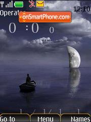 Moon SWF es el tema de pantalla