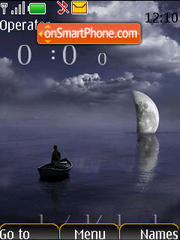 Скриншот темы Moon SWF