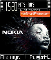 Nokia Elektro tema screenshot