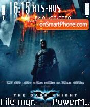 Batman The Dark Knight theme screenshot