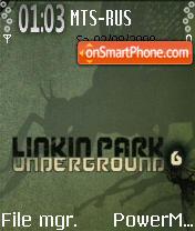 Linkin Park tema screenshot